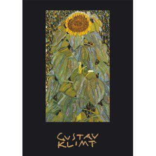 Gustav Klimt Adressbuch, Motiv Sonnenblume Gustav Klimt