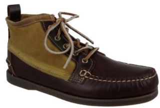 Sebago Schuhe B72518 Filson Beacon Dark Brown Canvas Braun