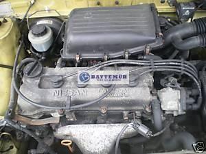Motor Nissan Micra K11 1.0 16V CG10DE