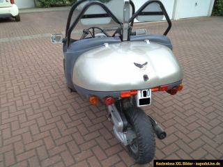 Fun Car Dreirad Roller Trike Buggy Mopedauto Scooter 49 ccm 2 Sitzer