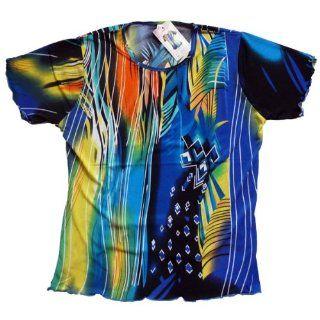 Damen Shirt Hawai Bunt Sport & Freizeit