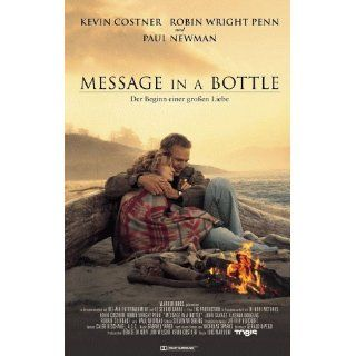 Message in a Bottle [VHS] Kevin Costner, Robin Wright, John Savage
