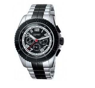 Herren Uhr Chronograph Moto black silver UVP 159 € NEU & OVP