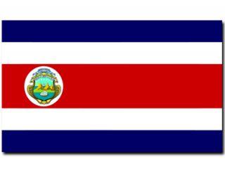 FAHNE COSTA RICA FLAGGE 90 x 150 cm NEU 90x150 OVP