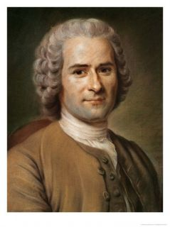 Jean Jacques Rousseau after 1753 Giclee Print by Maurice Quentin de La Tour