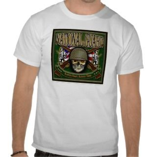 US Army National Guard Skull Shirts