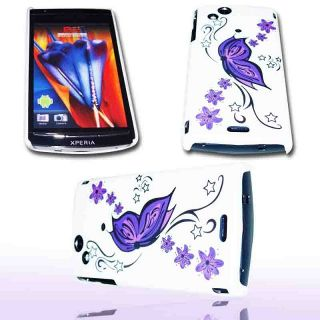 Handy Tasche Hard Case Cover JG Design f. Sony Ericsson Xperia ARC