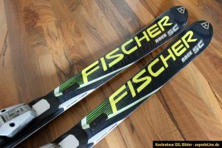 Fischer Race SC RC4 Carver Carving Ski 165cm + Fischer FS10 Bindung