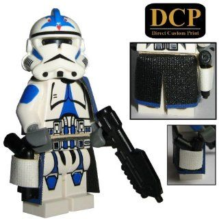 501st Legion Sergant Officer Clone Trooper   custom Lego Star Wars