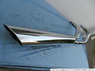 Auspuff Auspuffanlage exhaust muffler Honda VT 750 C C2 Shadow