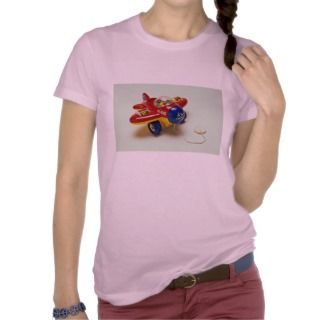 Colorful plane toy for kids tee shirts