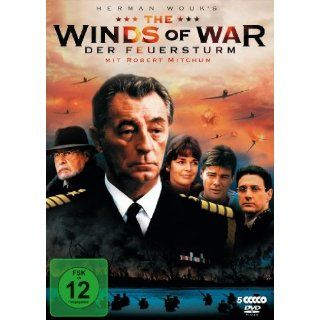 The Winds of War   Der Feuersturm [5 DVDs] Robert Mitchum