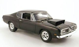 Plymouth Barracuda 440, schwarz, 118