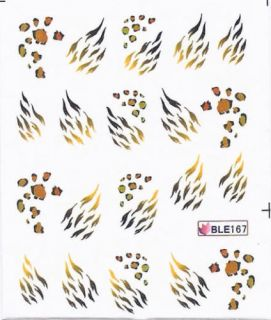 Nail Art Sticker Tattoo One Stroke BLE 167