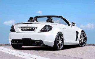 SLK R171 Mercedes Benz Black Series AMG 65 Look Umbau Spoiler Bausatz