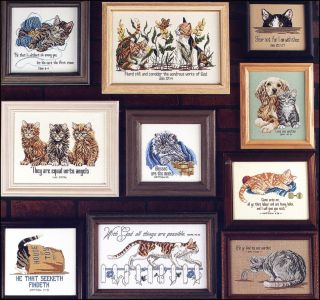 JEANETTE CREWS   The Second Litter 172   Counted Cross Stitch