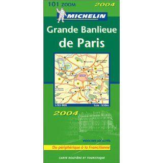 Michelin Karten, Bl.101 : Banlieue de Paris, französische Ausgabe