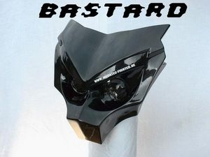 NEU HIGH END Scheinwerfer Lampe Maske STREETFIGHTER CBR GSXR GSF ZXR