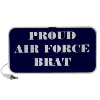 Doodle Speaker Proud Air Force Brat