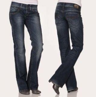 Replay Damen Jeans Swenfani WV531.117.400 Relaxed Fit dark blue