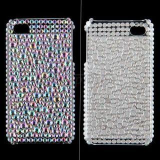 Strass Glitzer Gehäuse Hülle Tasche cover Etui für Apple iPhone 4G