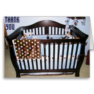 BABY GIFT THANK, YOU GREETING CARD