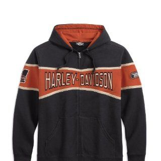 Harley Davidson Race Stripe Hooded Sweatshirt 99043 11VM Herren