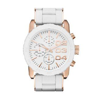Diesel DZ5323 Ladies FRANCHISE Chronograph White Watch