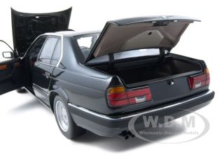 Brand new 1:18 scale diecast car model of 1987 BMW 730i E32 7 Series