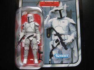 Star Wars BOBA FETT Prototype Armour Figur Vintage Limited Saturn