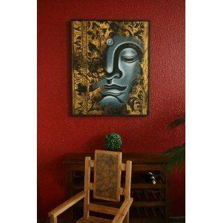 Buddha, Malerei, Gemälde, Bild, Acryl, Leinwand, Groß, 113x93