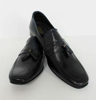 Herren Luxus Leder Schuhe Business Schuhe Halbschuhe blau dunkelblau