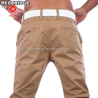 by CIPO&BAXX BRANDNEW HERREN STOFF CHINO HOSE CAPUCCINO RB 177