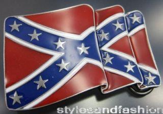 Gürtelschnalle Buckle Rebel Flag Confederate flag NEW