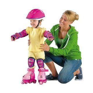 Fisher Price Grow with me 123 Inline Skates Barbie pink Mattel