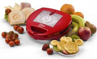 Ariete DeLonghi Disney Mickey Sandwichmaker Waffeleisen Kontaktgrill