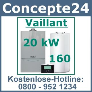Vaillant VC 195 Gas Heiztherme Heizung Aussenwand C160