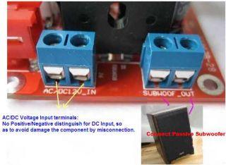 DIY Subwoofer 2.1 STA540 3 Channel power amplifier finished board