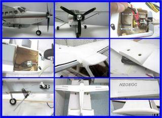 Cessna 208B Grand Caravan R/C airplane Laser cut kit