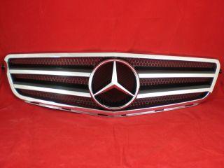Mercedes Benz W204 S204 C Grill Kuehlergrill AMG C63 look Schwarz