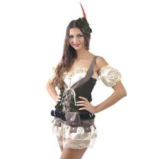 sexy Robin Hood Jägerin Kostüm Fasching Karneval Kostümparty
