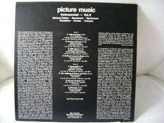 Picture LP Picture Music   Instrumental Vol. II (A191/6)