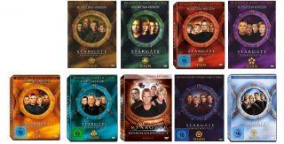 Stargate Kommando SG 1   2+3+4+5+6+7+8+9+10 * NEU OVP (Staffel/Season
