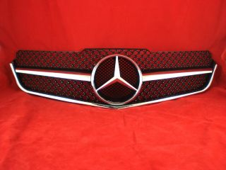 C207 A207 Mercedes E Coupe AMG  Sportgrill Kühlergrill Grill