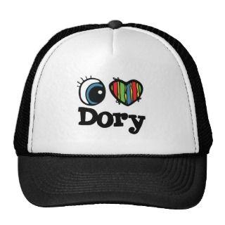Heart (Love) Dory Hat