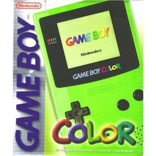 Game Boy   Gerät Color Neongrün Nintendo Game Boy Color