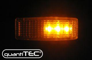 LED CHROM KLARGLAS SEITENBLINKER BLINKER MERCEDES BENZ W202 190 W201