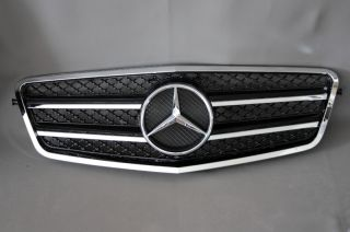 Kühlergrill Frontgrill Grill inkl. Stern AMG Look Mercedes W212