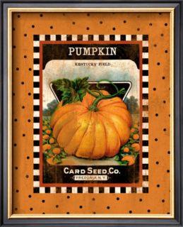 Pumpkin Seed Pack Framed Giclee Print
