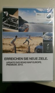 BMW Navi DVD Road Map Europe Premium Professional 2013 Update